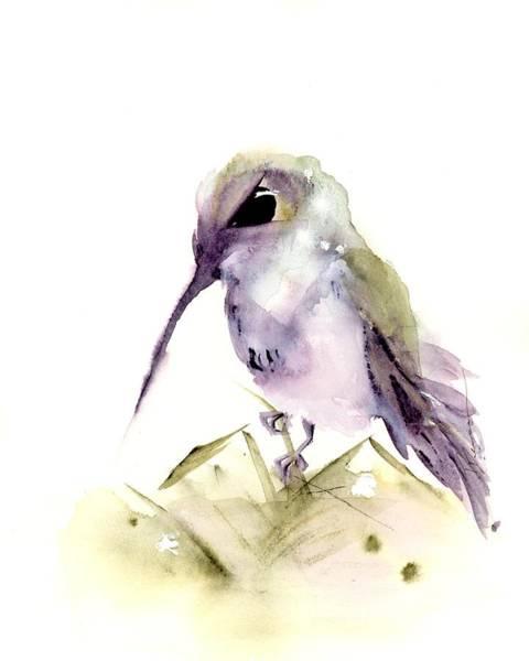Painting - Hummingbird Series 2019 #6 by Dawn Derman