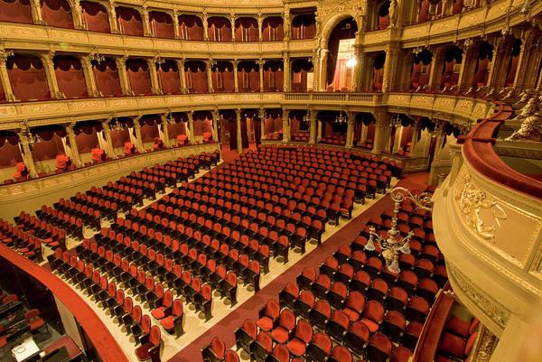 Auditorium Photograph - Hungarian National Opera House by Don Klumpp