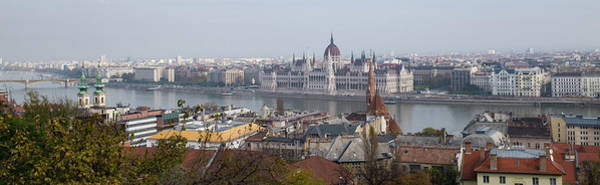 Photograph - Hungarian Parliament Across The Danube by Mark Duehmig