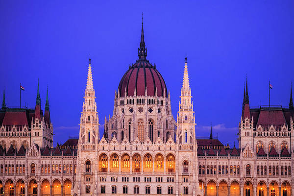 Hungarian Parliament Art Print by Andrew Soundarajan