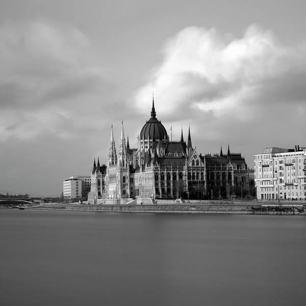 Parliament Building Photograph - Hungarian Parliament Building by Alex Holland
