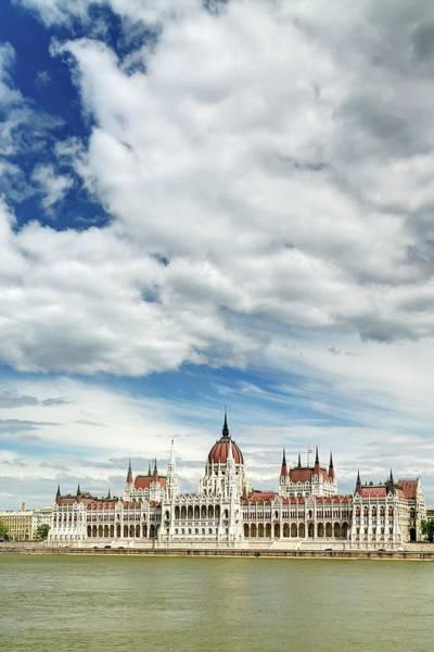 Parliament Building Photograph - Hungarian Parliament Building by Thomas Kurmeier