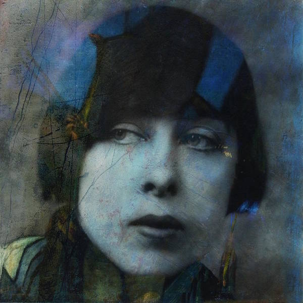 Wall Art - Digital Art - Hungry Eyes - Flapper Girl  by Paul Lovering