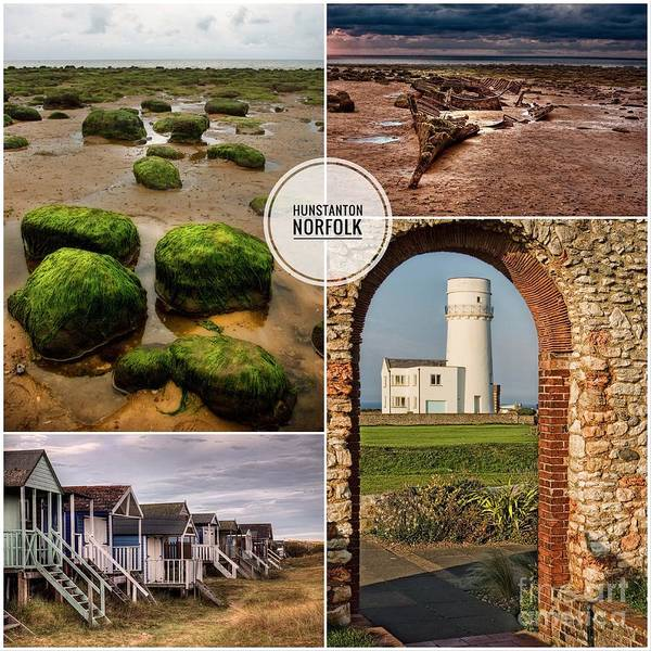 Wall Art - Photograph - Hunstanton, Norfolk by John Edwards