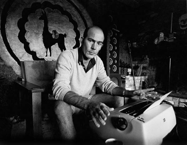 Horizontal Photograph - Hunter S. Thompson by Michael Ochs Archives