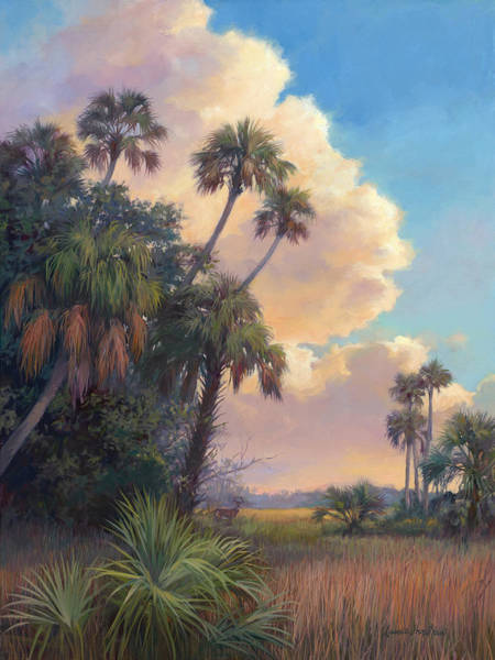 Lake Okeechobee Wall Art - Painting - Hunters Heaven by Laurie Snow Hein