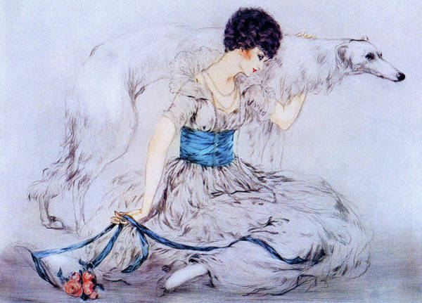 Wall Art - Painting - Hunting - Digital Remastered Edition by Louis Icart
