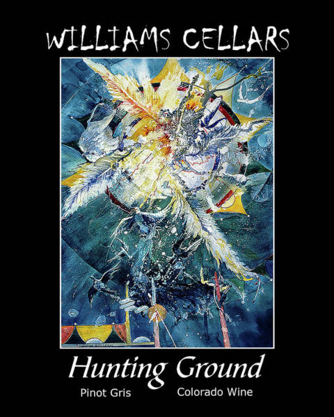Painting - Hunting Ground Wine Label by Williams Cellars