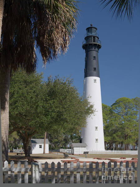 Photograph - Hunting Island Lighthouse by Patrick M Lynch