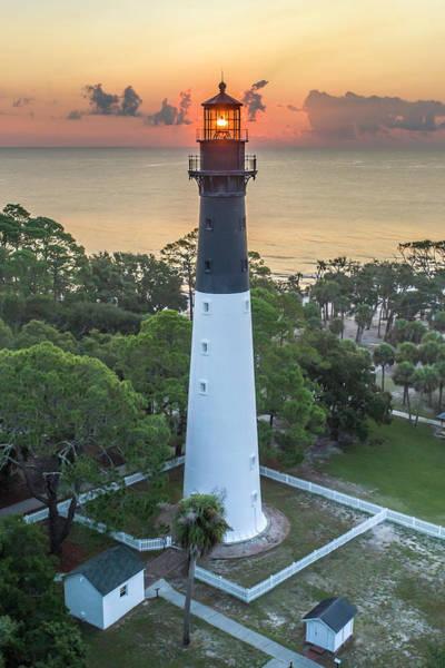 Hunting Island Lighthouse Wall Art - Photograph - Hunting Island Lighthouse by Robert Gecy
