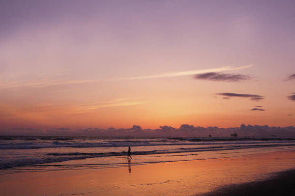 Wall Art - Photograph - Huntington Beach At Sunset by Art Spectrum