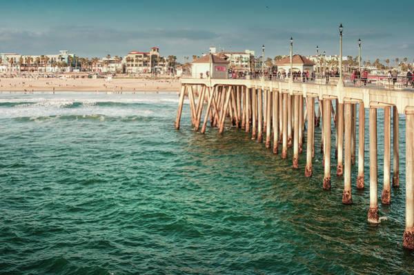 Wall Art - Photograph - Huntington Beach, California by Art Spectrum