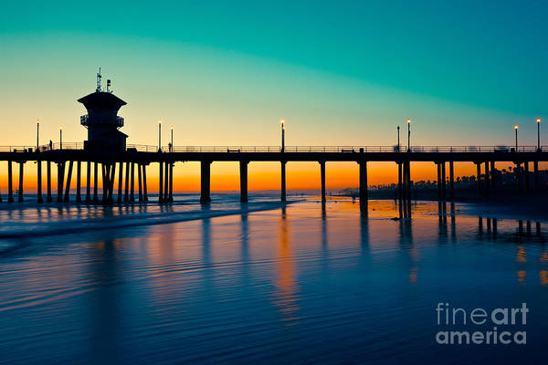 Silky Wall Art - Photograph - Huntington Beach by Kesterhu
