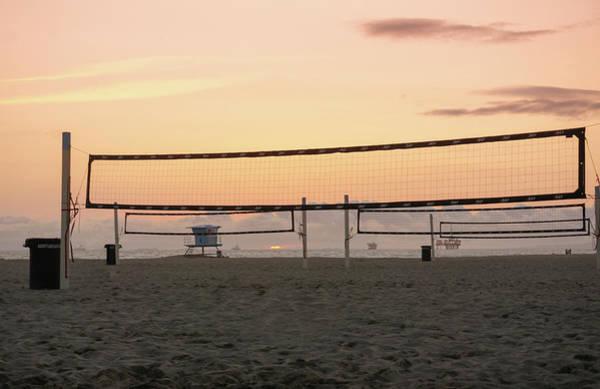 Wall Art - Photograph - Huntington Beach Volleyball  by Art Spectrum
