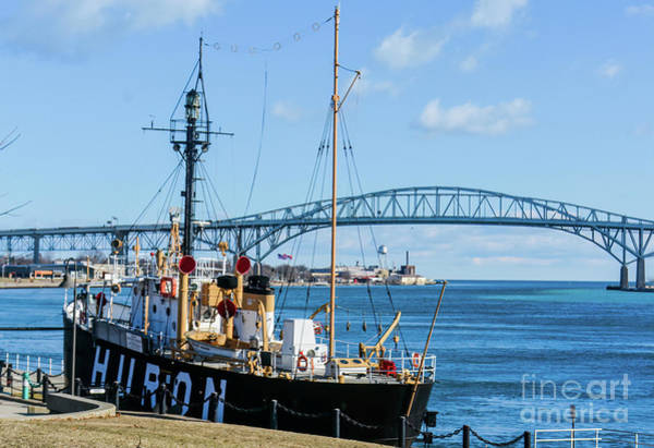 Photograph - Huron Lightship Museum by Randy J Heath