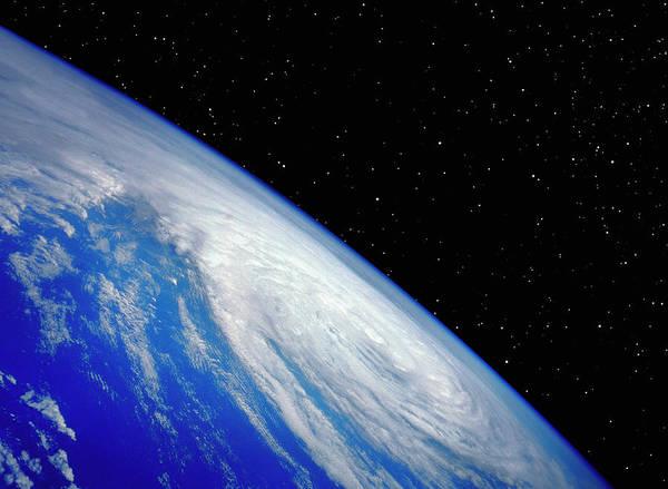 Threat Photograph - Hurricane From Space by Joe Drivas