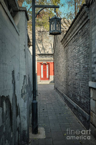 Photograph - Hutong  by Iryna Liveoak