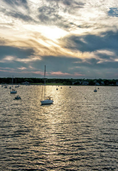 Wall Art - Photograph - Hyannis Harbor Sunset - Cape Cod - Massachusetts by Brendan Reals