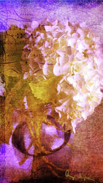 Wall Art - Digital Art - Hydrangea by Amy Curtis