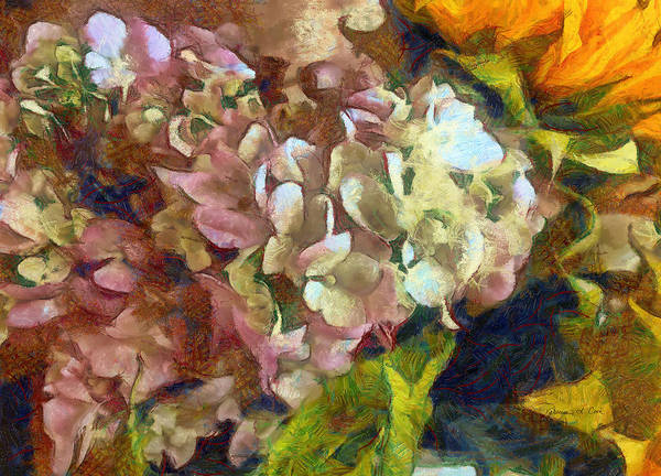 Photograph - Hydrangea Love by Bellesouth Studio