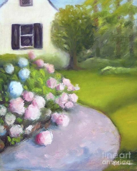Painting - Hydrangeas by Linda Anderson