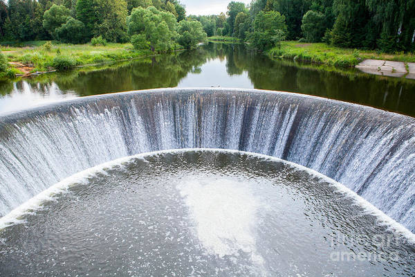 Wall Art - Photograph - Hydroelectric Power Plant In Yaropolets by Vladislav Sinelnikov