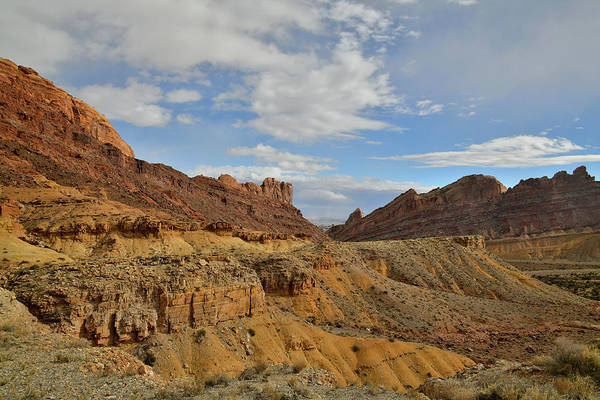 Photograph - I-70 Passing Through San Rafael Swell by Ray Mathis