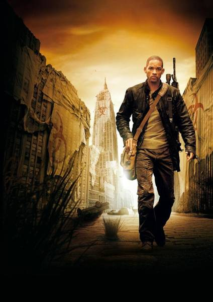Wall Art - Digital Art - I Am Legend by Geek N Rock