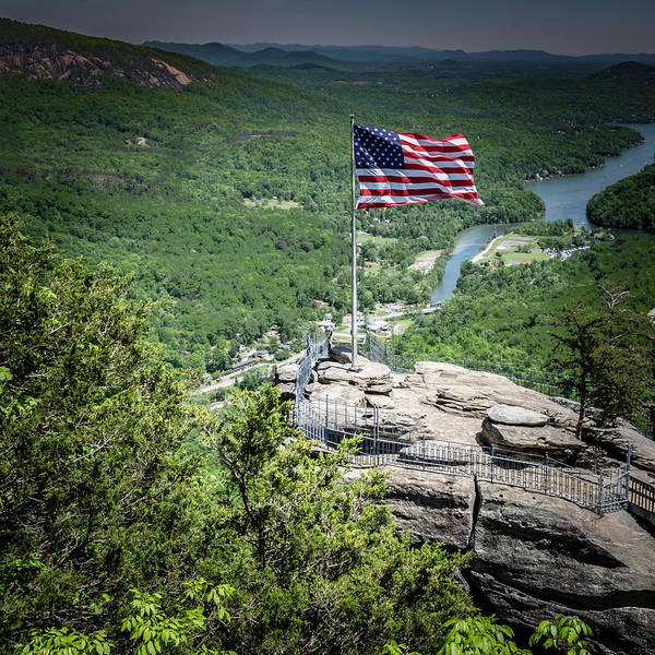 Photograph - I Am Old Glory by Chris Coffee