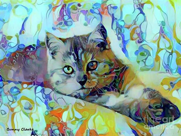 Wall Art - Digital Art - I Am Queen by Bunny Clarke