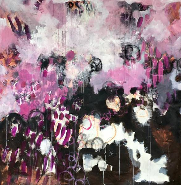 Painting - I Am Yes And by Laurie Maves ART