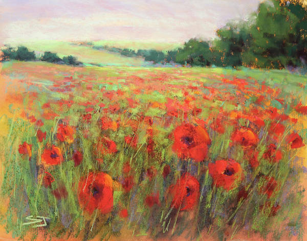 Painting - I Dream Of Poppies by Susan Jenkins