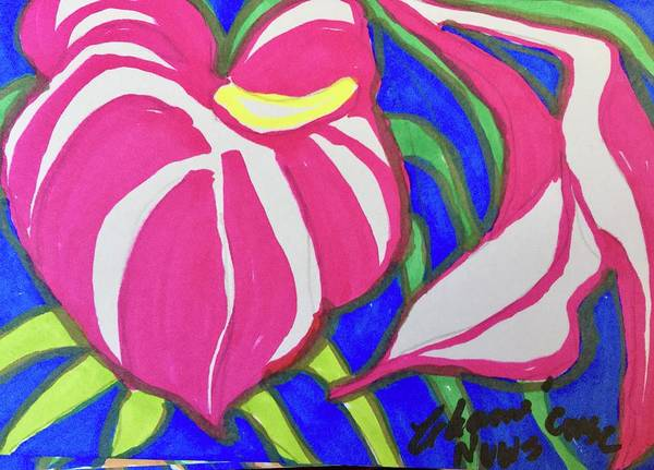 Wall Art - Painting - I Give You My Heart by Charme Curtin