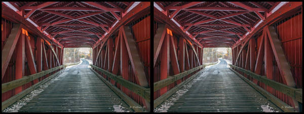 Kingsville Photograph - I Got You Covered 3d Stereo Xview by Brian Wallace