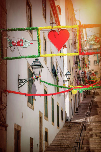 Wall Art - Photograph - I Heart Lisbon  by Carol Japp