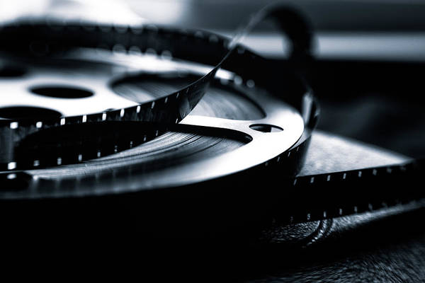 Cinematography Photograph - I Just Love Old Movies by Marnie Patchett
