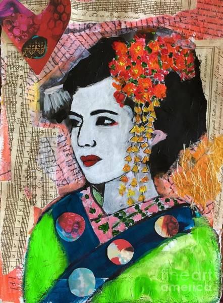 Mixed Media - I Know Who I Am  by Corina Stupu Thomas
