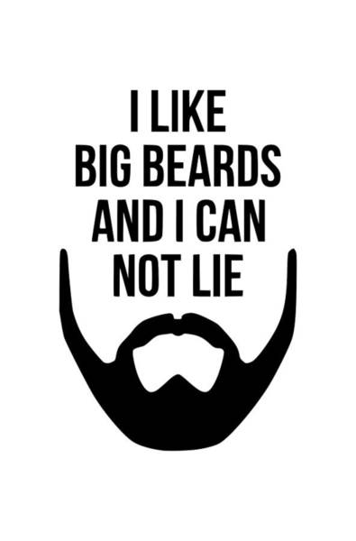 Hardrock Digital Art - I Like Big Beards by Tee titan