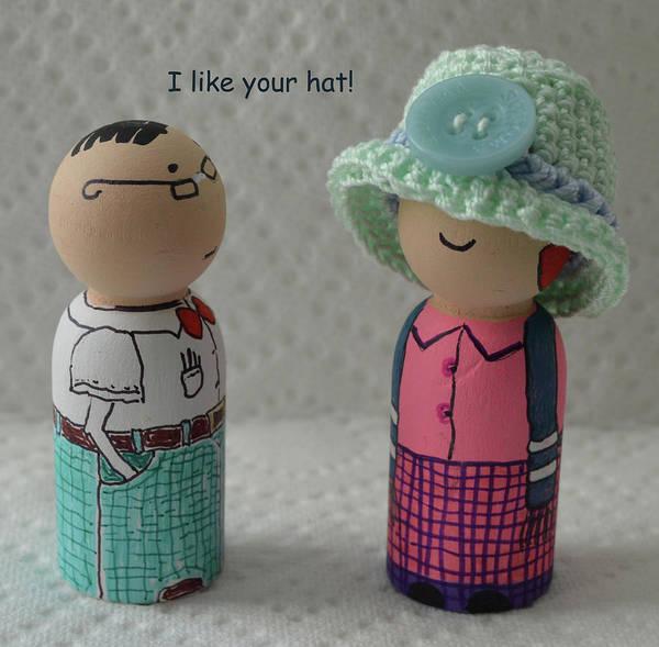 Wall Art - Photograph - I Like Your Hat by Sharon Bernacki
