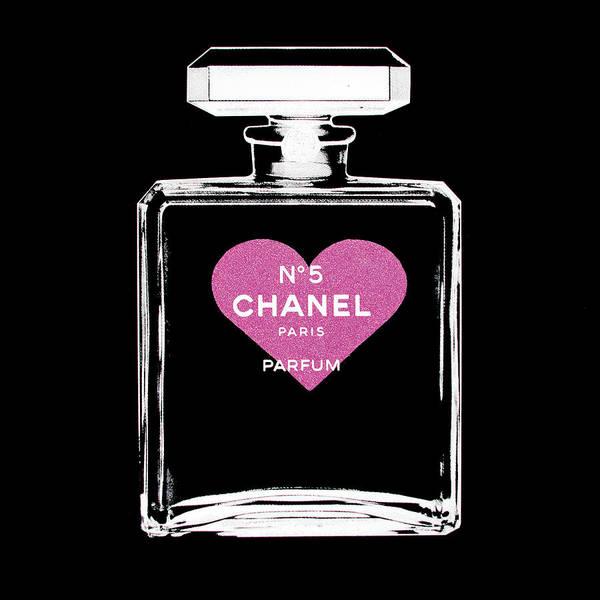 Acrylic Mixed Media - I Love Chanel  by Shane Bowden