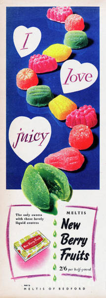 Wall Art - Photograph - I Love Juicy by Picture Post