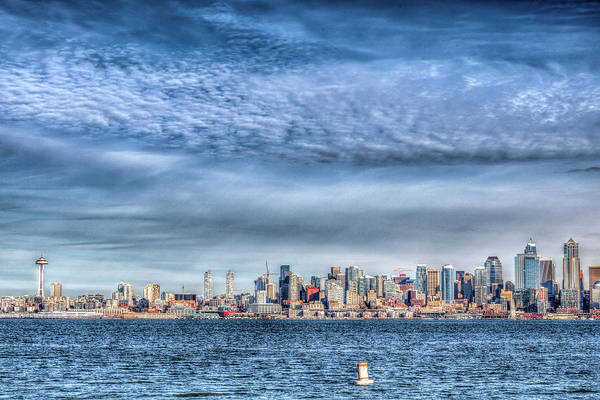 Wall Art - Photograph - I Love Seattle by Spencer McDonald