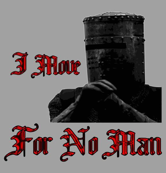 Wall Art - Digital Art - I Move For No Man by Filip Hellman