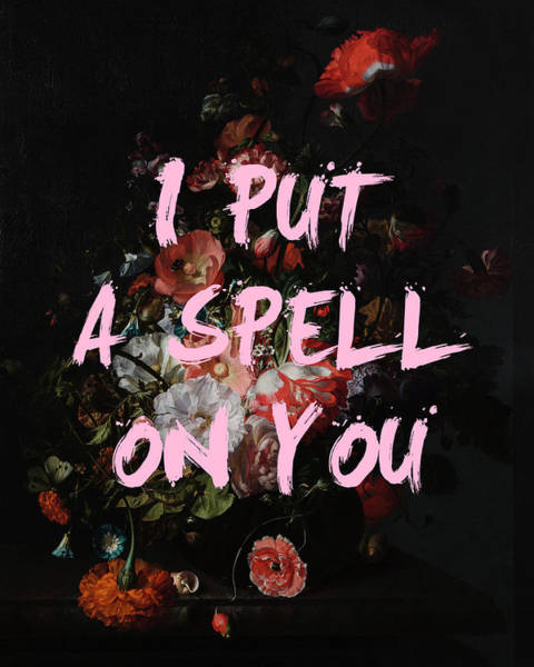 Digital Art - I Put A Spell On You Print by Georgia Fowler