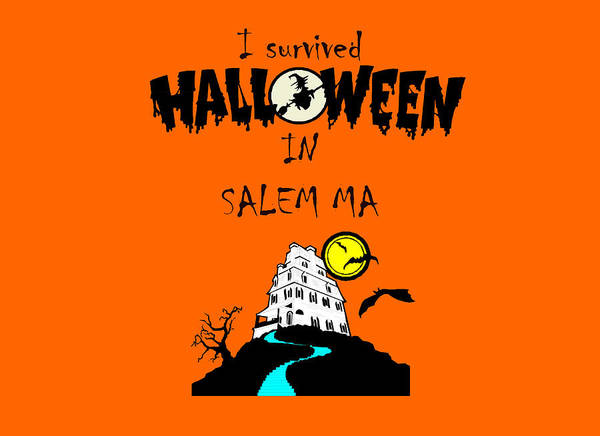 Photograph - I Survived Halloween In Salem-2 by Jeff Folger