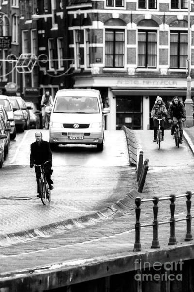 Photograph - I Want To Ride My Bicycle In Amsterdam by John Rizzuto