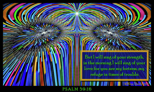 Digital Art - I Will Sing Of Your Love by Missy Gainer