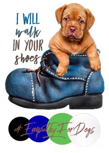 Digital Art - I Will Walk In Your Shoes by Kathy Tarochione