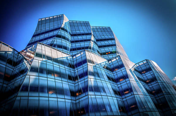 Photograph - Iac Frank Gehry Building by Louis Dallara