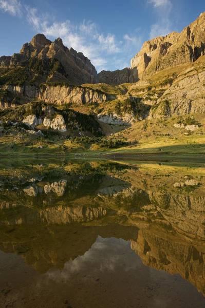 Photograph - Ibon De Piedrafita Reflection by Stephen Taylor